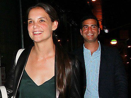 Katie Holmes Goes on a Dinner Date