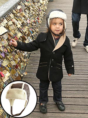 Mini Must-Have: Mason Disick's Cozy Hat