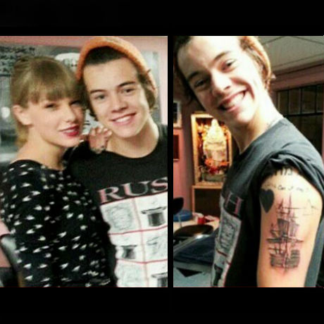 Latest date taylor swift went with her new boyfriend harry styles