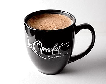Cathy's Regimen hot chocolate from Le Chocolat du Bouchard