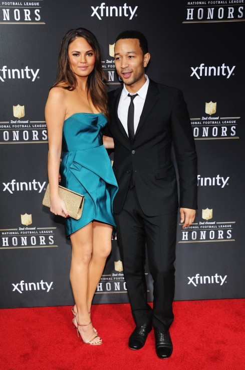 Chrissy Teigen John Legend NFL Honors