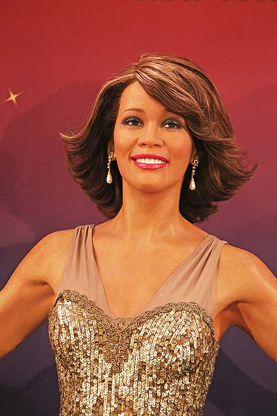 Whitney Houston Wax Figure