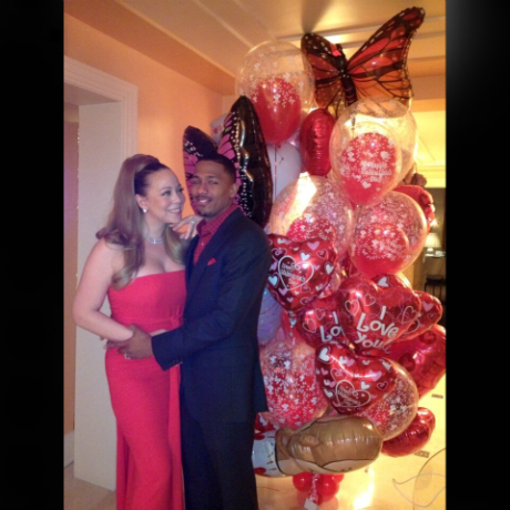 mariah carey vday nick cannon