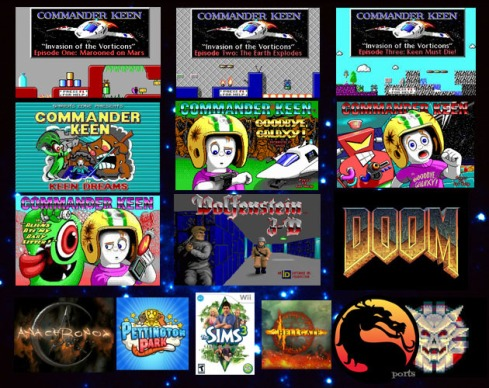 Some of the games Tom Hall worked on